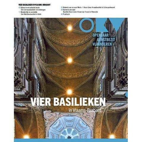 Cover publicatie: 4 basilieken in Vlaams-Brabant